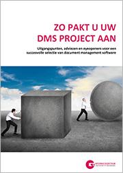 Zo pakt u een DMS software project aan